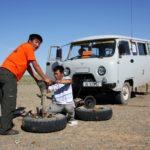 Panne in Mongolei
