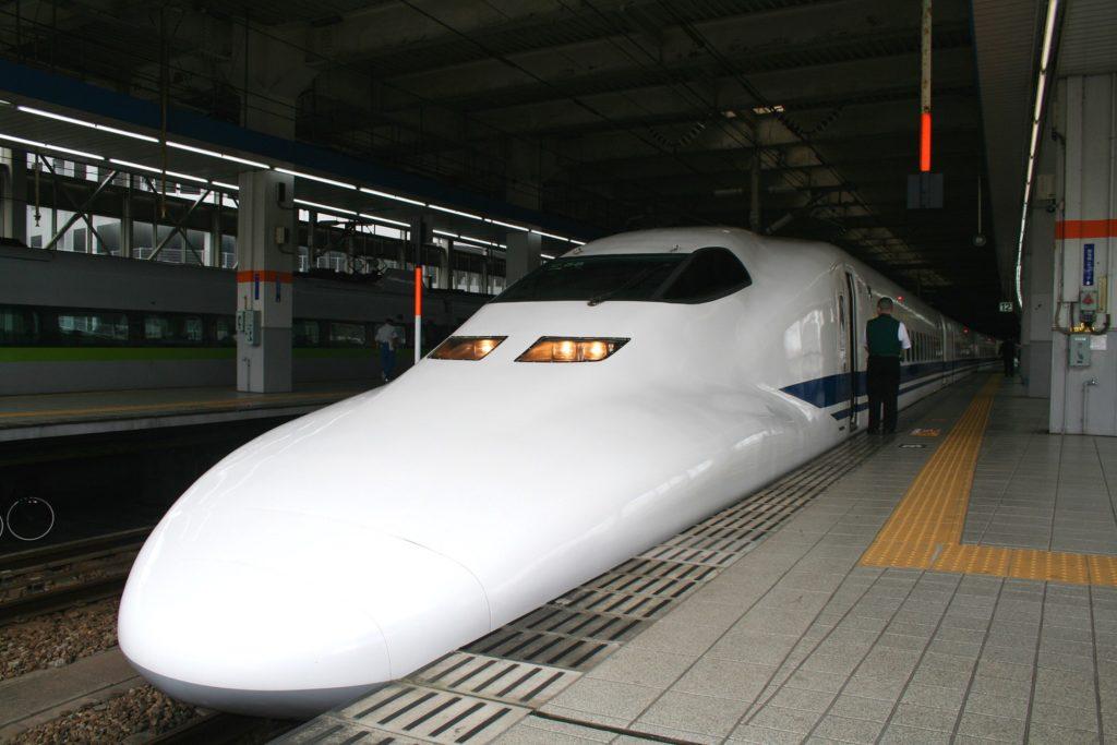 Schnellzug in Japan