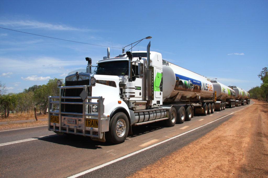 Trucker in Australien