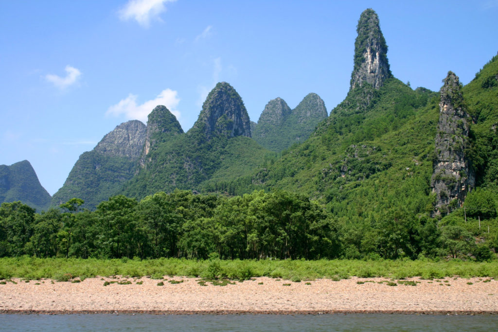 Karstberge am Li-River