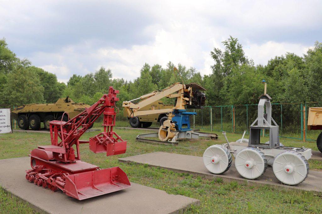 Verwendete Geräte in Tschernobyl