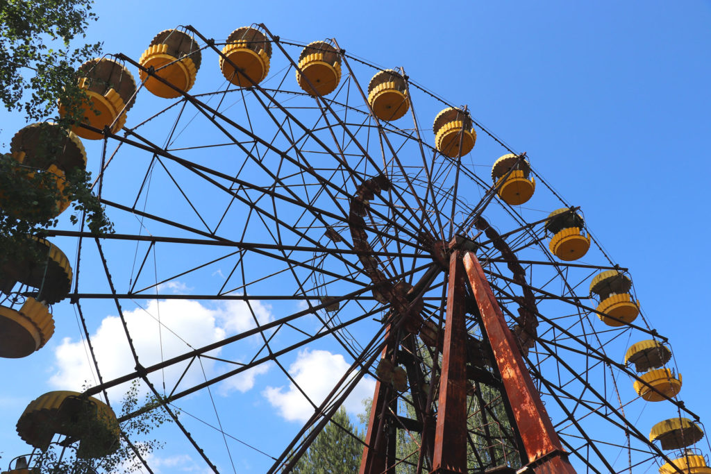 Riesenrad in Pripyat