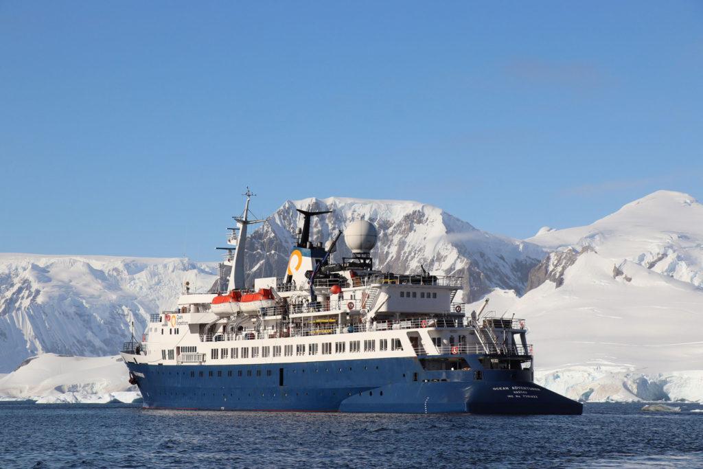 Unser Expeditionsschiff die Ocean Adventurer