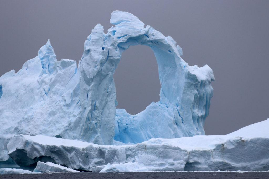 Eisbergformation