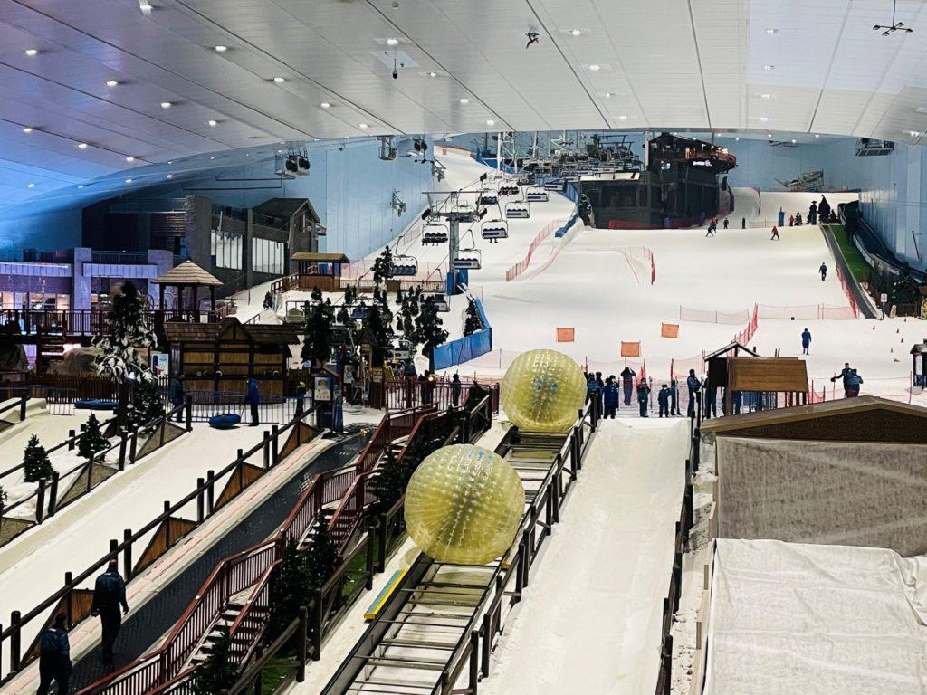 Skihalle in Dubai