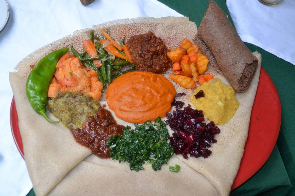 Essen in Äthiopien