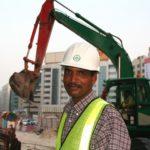 Am Bau in Dubai