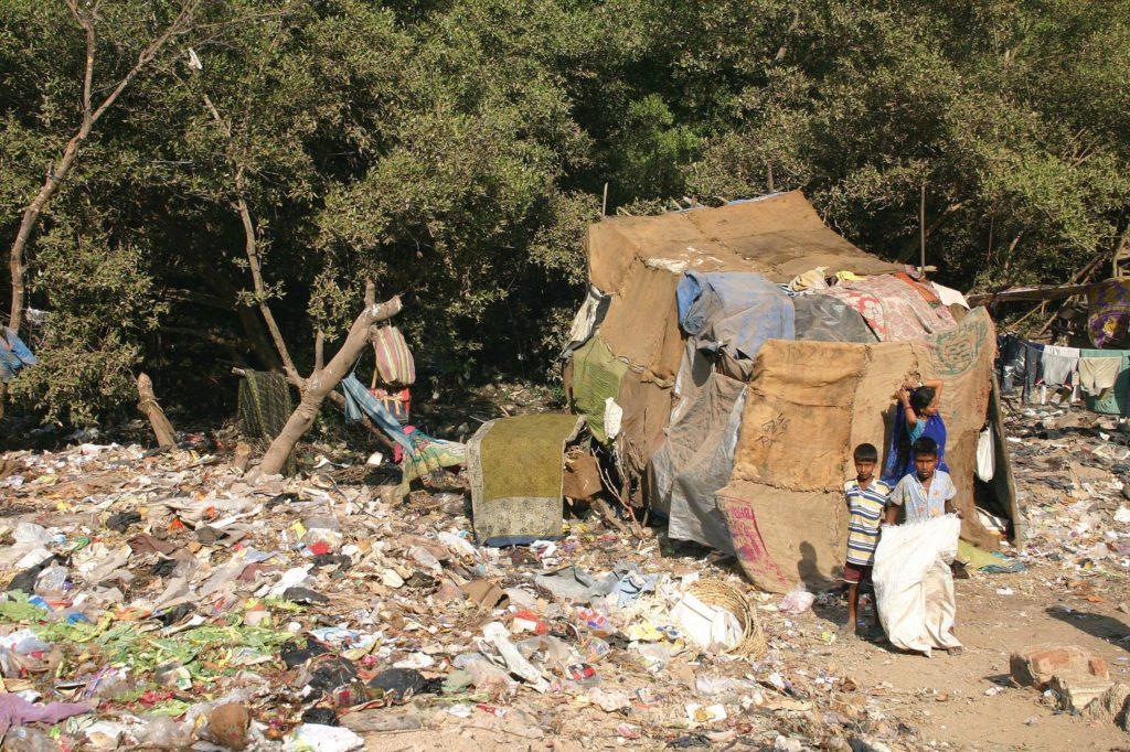Slums von Bombay