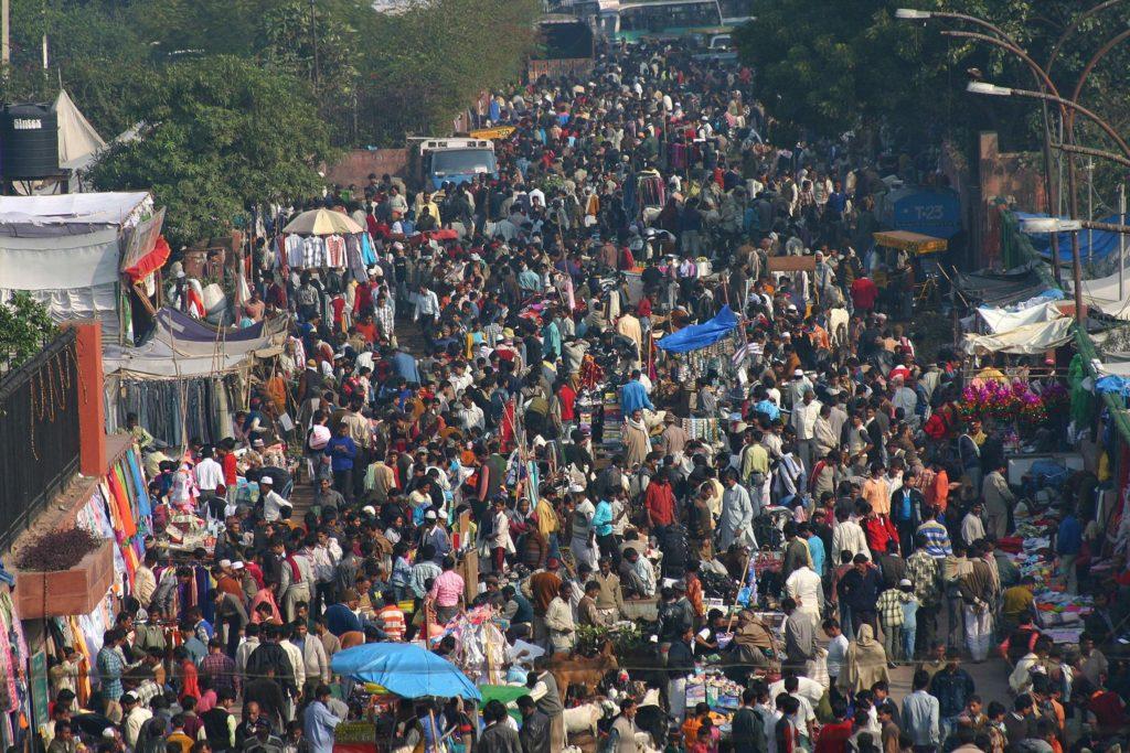 Indische Straßen