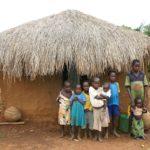 Familie in Uganda