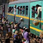 Zug in Madagaskar