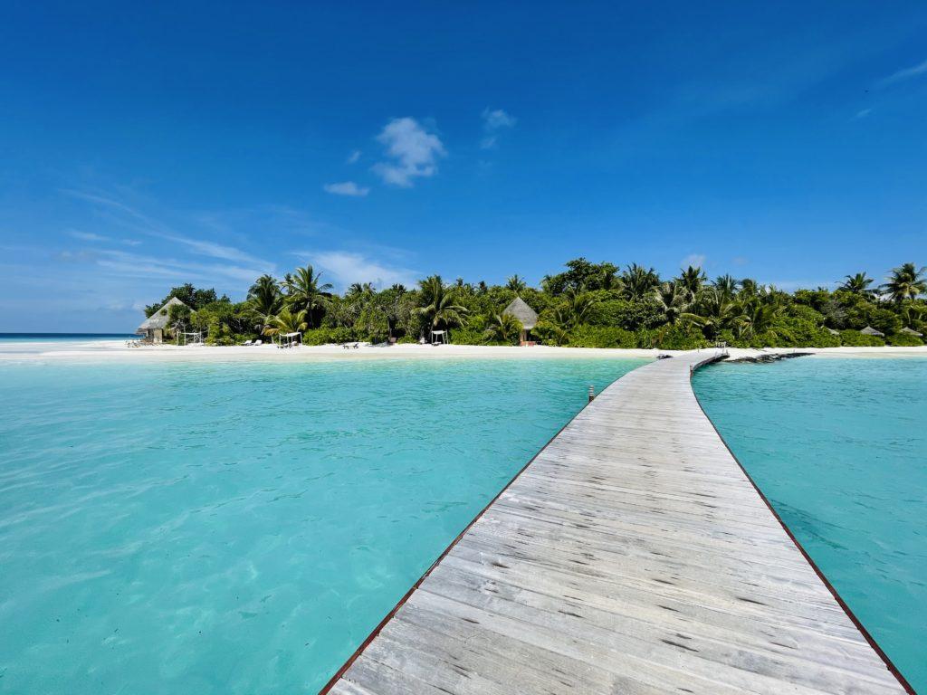 Steg zum strand